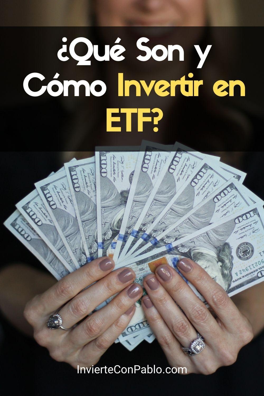 Invertir enfondos cotizados en bolsa (ETF)